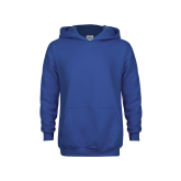 Youth Royal Fleece Hoodie-Select-A-Logo
