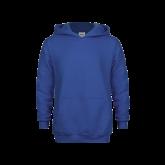 Youth Royal Fleece Hoodie-Select-A-Logo