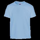 Youth Light Blue T Shirt-Select-A-Logo