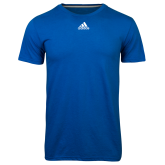 Adidas Climalite Royal Ultimate Performance Tee-Select-A-Logo