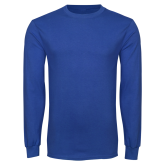 Royal Long Sleeve T Shirt-Select-A-Logo