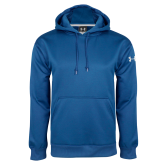 College Under Armour Royal Performance Sweats Team Hoodie-Select-A-Logo