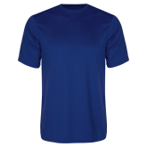 College Performance Royal Tee-Select-A-Logo