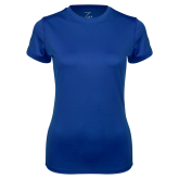 Ladies Syntrel Performance Royal Tee-Select-A-Logo