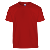 Youth Red T Shirt-Select-A-Logo