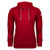 Adidas Climawarm Red Team Issue Hoodie-Select-A-Logo