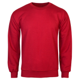 Red Fleece Crew-Select-A-Logo