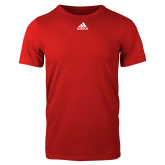 Adidas Red Logo T Shirt-Select-A-Logo