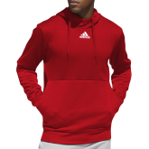 Adidas Red Team Issue Hoodie-Select-A-Logo