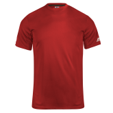 Russell Core Performance Red Tee-Select-A-Logo