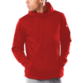 Under Armour Red Armour Fleece Hoodie-Select a Department