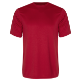 Syntrel Performance Red Tee-Select-A-Logo
