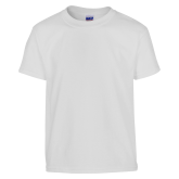 Youth White T Shirt-Select-A-Logo