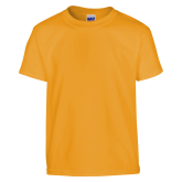 Youth Gold T Shirt-Select a Department