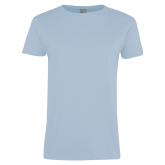 Ladies Sky Blue T-Shirt-Select-A-Logo
