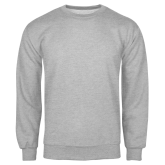 Grey Fleece Crew-Select-A-Logo