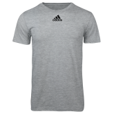 Adidas Sport Grey Logo T Shirt-Select A Club Sport