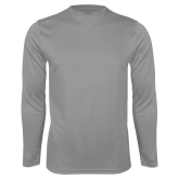 Performance Steel Longsleeve Shirt-Select-A-Logo