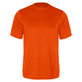 Performance Orange Tee-Select-A-Logo