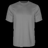 Maricopa Comm Performance Grey Concrete Tee-Select-A-Logo