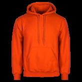 Orange Fleece Hoodie-Select-A-Logo
