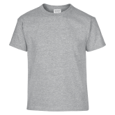 Youth Grey T-Shirt-Select-A-Logo