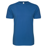 Next Level SoftStyle Royal T Shirt-Select-A-Logo