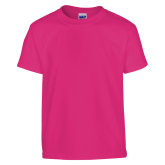 Youth Cyber Pink T Shirt-Select-A-Logo