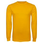 Gold Long Sleeve T Shirt-Select-A-Logo