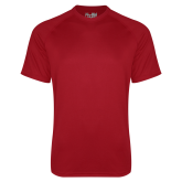 Under Armour Cardinal Tech Tee-Select a Left Chest Logo