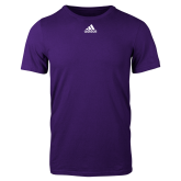 Adidas Purple Logo T Shirt-Select-A-Logo