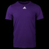 Adidas Purple Logo T Shirt-Select-A-Logo