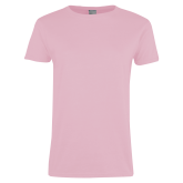 Ladies Pink T Shirt-Select-A-Logo