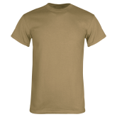 Khaki Gold T Shirt-Select-A-Logo