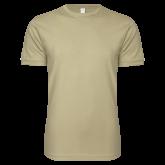 Next Level SoftStyle Khaki T Shirt-Select-A-Logo