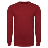 Cardinal Long Sleeve T Shirt-Select-A-Logo