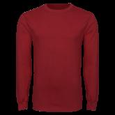 Cardinal Long Sleeve T Shirt-Select a Left Chest Logo