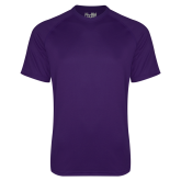 Under Armour Purple Tech Tee-Select-A-Logo