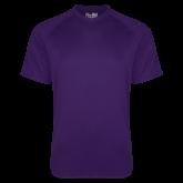 Under Armour Purple Tech Tee-Select-A-Logo