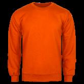 Orange Fleece Crew-Select-A-Logo