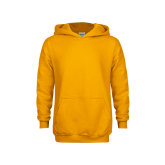 Youth Gold Fleece Hood-Select-A-Logo