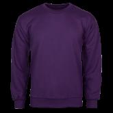 Purple Fleece Crew-Select-A-Logo