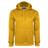 Under Armour Gold Performance Sweats Team Hood-Select-A-Logo