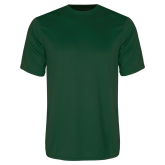Performance Dark Green Tee-Select-A-Logo
