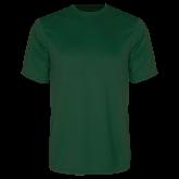 Performance Dark Green Tee-Select-A-Logo