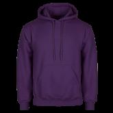 Purple Fleece Hoodie-Select-A-Logo