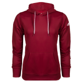 Adidas Climawarm Cardinal Team Issue Hoodie-Select-A-Logo