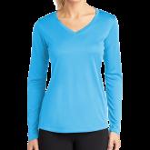 Ladies Syntrel Performance Light Blue Longsleeve Shirt-Select-A-Logo