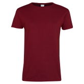 Ladies Cardinal T Shirt-Select-A-Logo