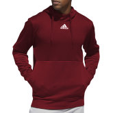 Adidas Cardinal Team Issue Hoodie-Select-A-Logo